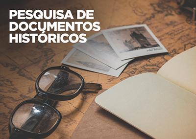 Pesquisa de Documentos Históricos